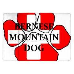 Ber Mt Dog Name Paw Switzerland Flag Samsung Galaxy Tab 10.1  P7500 Flip Case