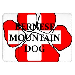 Ber Mt Dog Name Paw Switzerland Flag Samsung Galaxy Tab 8.9  P7300 Flip Case