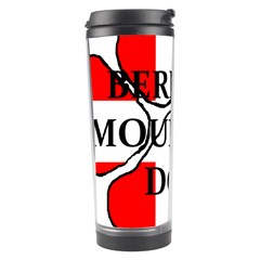 Ber Mt Dog Name Paw Switzerland Flag Travel Tumbler