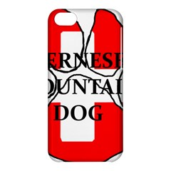 Ber Mt Dog Name Paw Switzerland Flag Apple iPhone 5C Hardshell Case