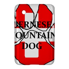 Ber Mt Dog Name Paw Switzerland Flag Samsung Galaxy Tab 2 (7 ) P3100 Hardshell Case