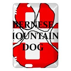 Ber Mt Dog Name Paw Switzerland Flag Kindle Fire HDX Hardshell Case