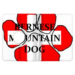 Ber Mt Dog Name Paw Switzerland Flag Kindle Fire HDX Flip 360 Case