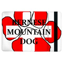 Ber Mt Dog Name Paw Switzerland Flag iPad Air Flip
