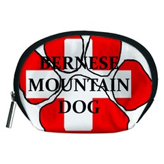 Ber Mt Dog Name Paw Switzerland Flag Accessory Pouches (Medium)