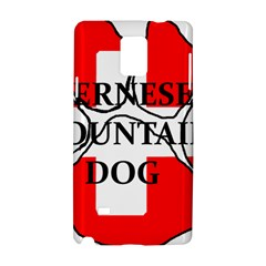 Ber Mt Dog Name Paw Switzerland Flag Samsung Galaxy Note 4 Hardshell Case