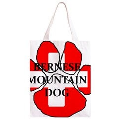 Ber Mt Dog Name Paw Switzerland Flag Classic Light Tote Bag