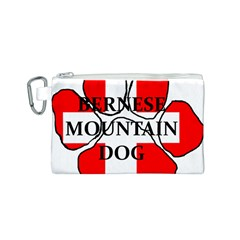Ber Mt Dog Name Paw Switzerland Flag Canvas Cosmetic Bag (S)