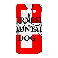 Ber Mt Dog Name Paw Switzerland Flag Samsung Galaxy A5 Hardshell Case