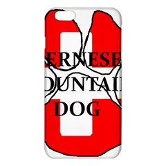 Ber Mt Dog Name Paw Switzerland Flag iPhone 6 Plus/6S Plus TPU Case