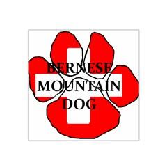 Ber Mt Dog Name Paw Switzerland Flag Satin Bandana Scarf