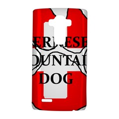 Ber Mt Dog Name Paw Switzerland Flag LG G4 Hardshell Case