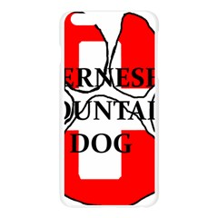 Ber Mt Dog Name Paw Switzerland Flag Apple Seamless iPhone 6 Plus/6S Plus Case (Transparent)