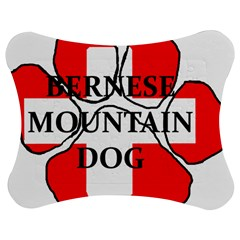 Ber Mt Dog Name Paw Switzerland Flag Jigsaw Puzzle Photo Stand (Bow)