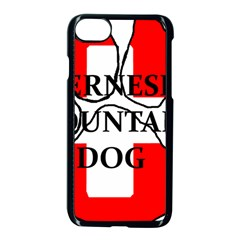 Ber Mt Dog Name Paw Switzerland Flag Apple iPhone 7 Seamless Case (Black)