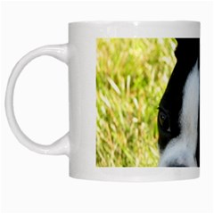 Boston Terrier Puppy White Mugs