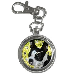 Boston Terrier Puppy Key Chain Watches