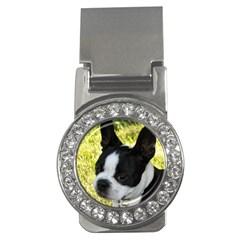 Boston Terrier Puppy Money Clips (CZ)