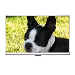 Boston Terrier Puppy Business Card Holders