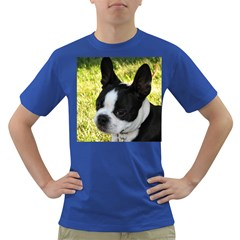 Boston Terrier Puppy Dark T-Shirt