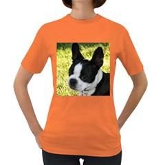 Boston Terrier Puppy Women s Dark T-Shirt