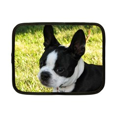 Boston Terrier Puppy Netbook Case (Small)