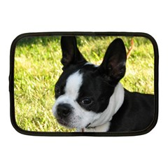 Boston Terrier Puppy Netbook Case (Medium)