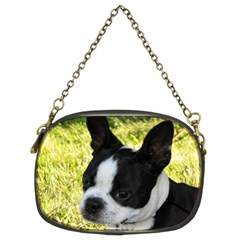 Boston Terrier Puppy Chain Purses (Two Sides)