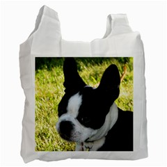 Boston Terrier Puppy Recycle Bag (One Side)