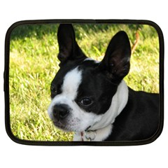 Boston Terrier Puppy Netbook Case (XL)