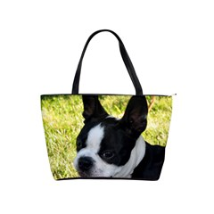 Boston Terrier Puppy Shoulder Handbags