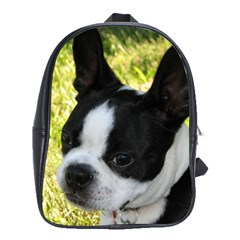 Boston Terrier Puppy School Bags(Large)