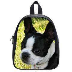 Boston Terrier Puppy School Bags (Small)
