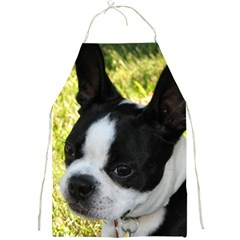 Boston Terrier Puppy Full Print Aprons