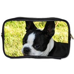 Boston Terrier Puppy Toiletries Bags