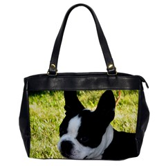 Boston Terrier Puppy Office Handbags