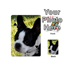 Boston Terrier Puppy Playing Cards 54 (Mini)