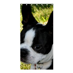 Boston Terrier Puppy Shower Curtain 36  x 72  (Stall)