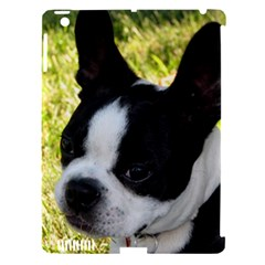 Boston Terrier Puppy Apple iPad 3/4 Hardshell Case (Compatible with Smart Cover)