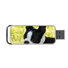 Boston Terrier Puppy Portable USB Flash (One Side)
