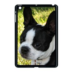 Boston Terrier Puppy Apple iPad Mini Case (Black)