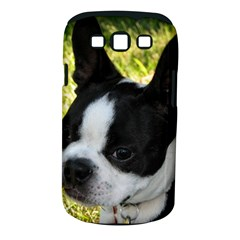 Boston Terrier Puppy Samsung Galaxy S III Classic Hardshell Case (PC+Silicone)