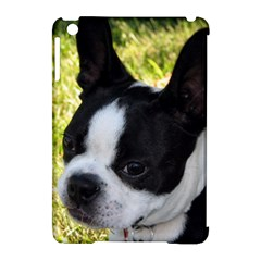 Boston Terrier Puppy Apple iPad Mini Hardshell Case (Compatible with Smart Cover)