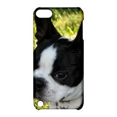 Boston Terrier Puppy Apple iPod Touch 5 Hardshell Case with Stand