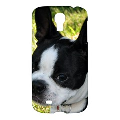 Boston Terrier Puppy Samsung Galaxy S4 I9500/I9505 Hardshell Case