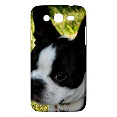 Boston Terrier Puppy Samsung Galaxy Mega 5.8 I9152 Hardshell Case