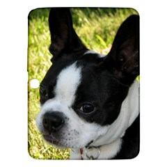 Boston Terrier Puppy Samsung Galaxy Tab 3 (10.1 ) P5200 Hardshell Case