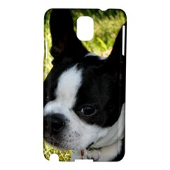 Boston Terrier Puppy Samsung Galaxy Note 3 N9005 Hardshell Case
