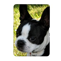 Boston Terrier Puppy Samsung Galaxy Tab 2 (10.1 ) P5100 Hardshell Case