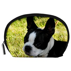 Boston Terrier Puppy Accessory Pouches (Large)